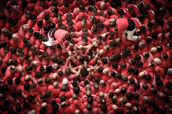 "西班牙""The human towers"" - 图1"