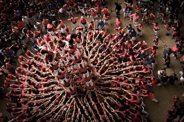 "西班牙""The human towers"" - 图4"