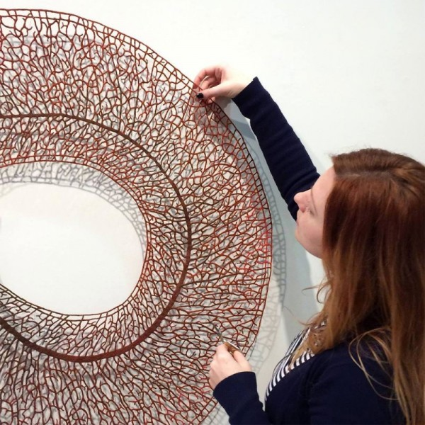 Meredith Woolnough的叶脉刺绣 - 图11