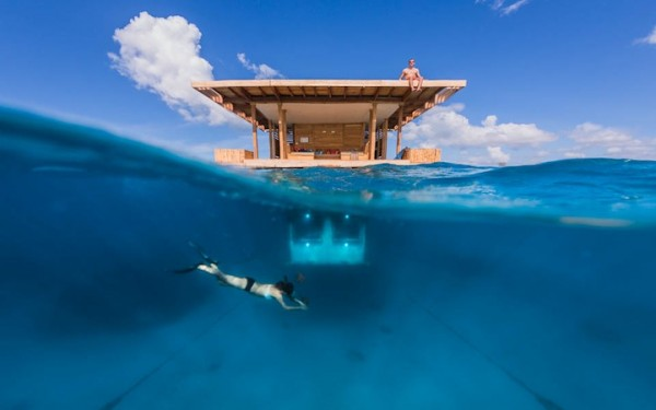 浮在海上的水下酒店 THE MANTA RESORT UNDERWATER HOTEL ROOM - 图2