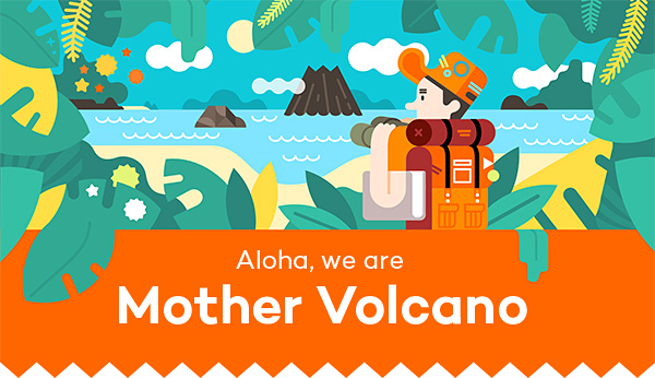 Mother Volcano插画作品 - 图1